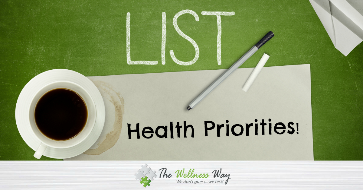 Priorities for Health
