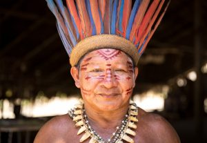 Xingu tribe and unrefined salt intake