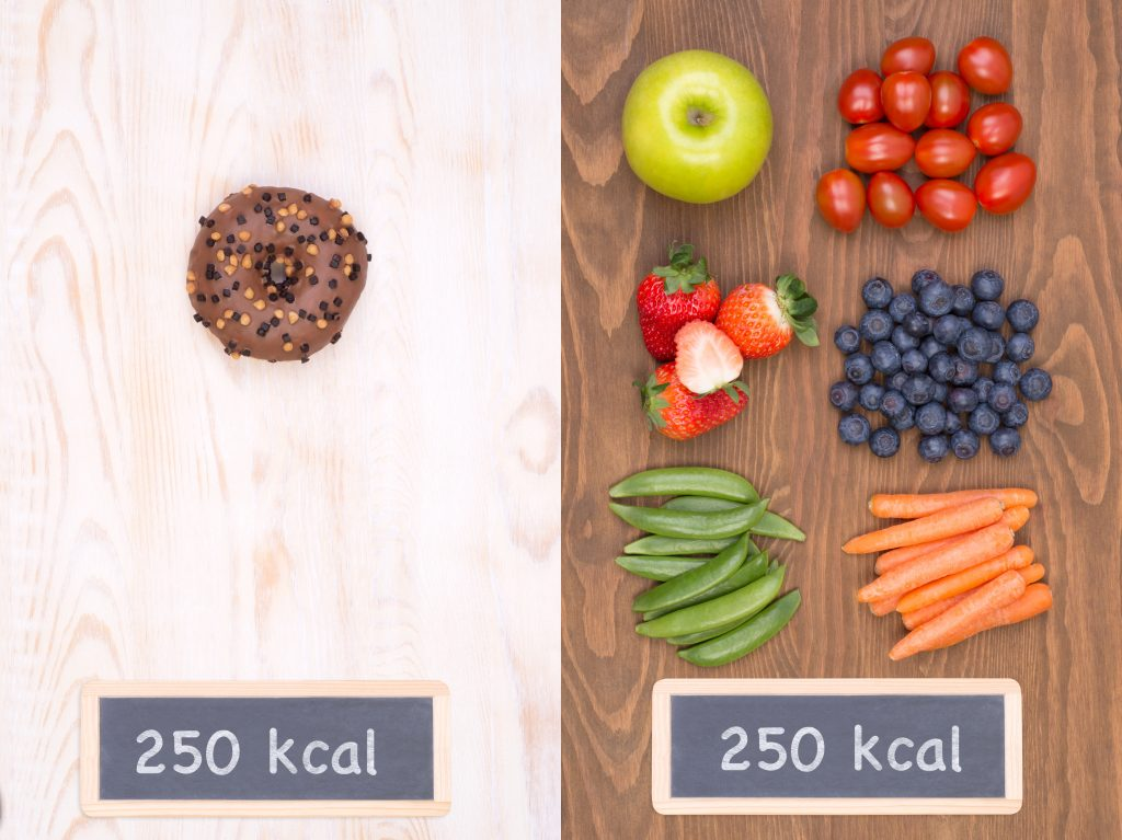 Myth of Counting Calories in Foods